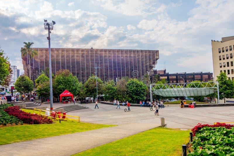 Città di Manizales in Colombia immagini stock libere da diritti