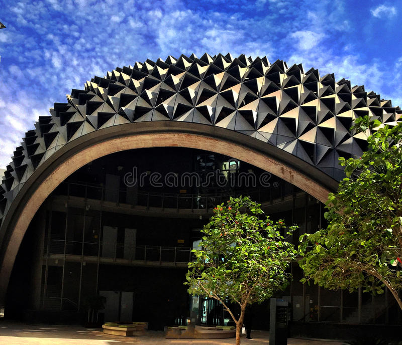 Città di Masdar immagini stock