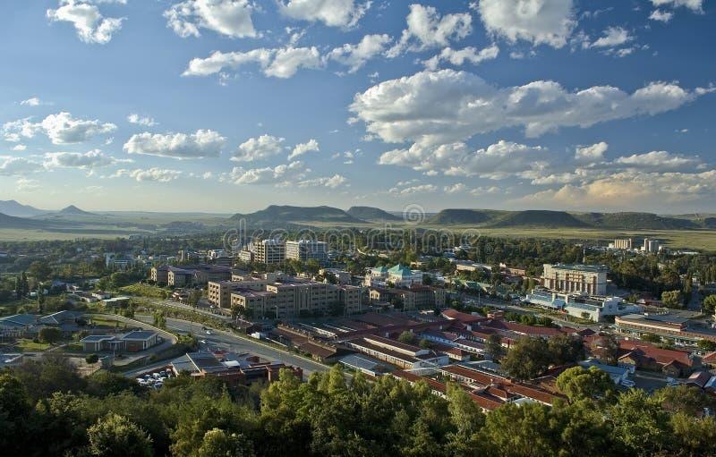 Città di Maseru, Lesotho immagini stock libere da diritti