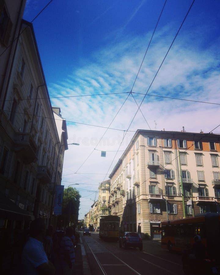 Città di Milano fotografie stock