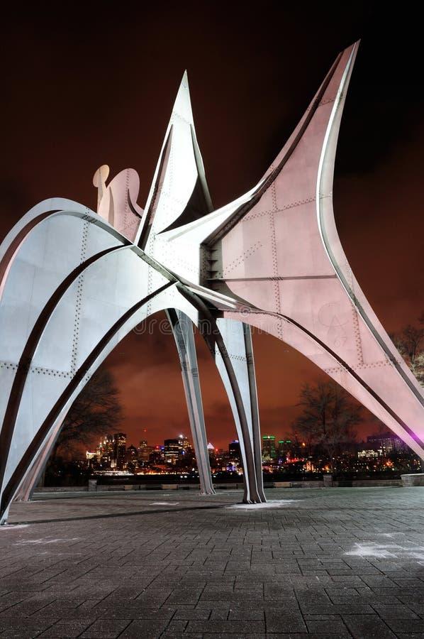 Città di Montreal immagini stock