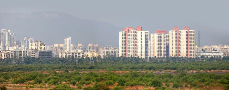 Città di Mulund in India fotografia stock libera da diritti