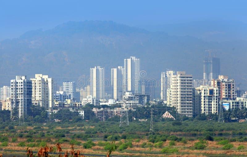 Città di Mulund in Mumbai fotografie stock libere da diritti
