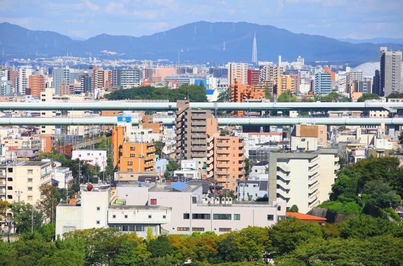 Città di Nagoya fotografia stock libera da diritti