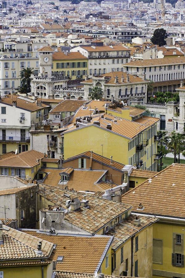 Città di Nizza, Francia fotografia stock libera da diritti