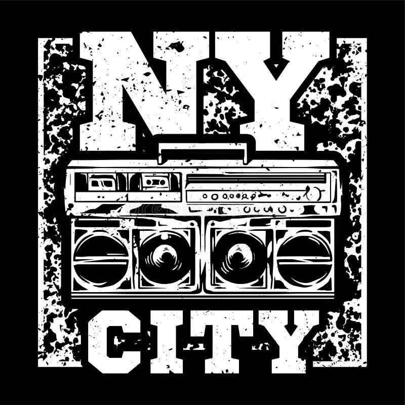 Città di NY illustrazione di stock