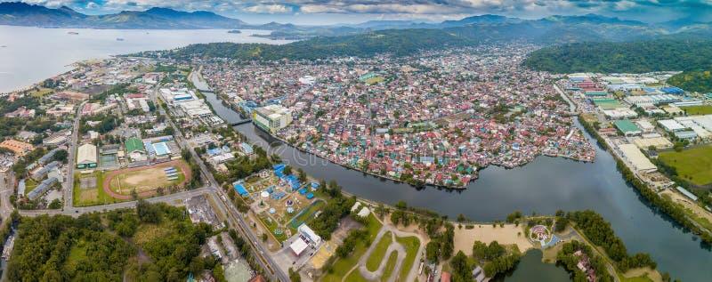 Città di Olongapo nelle Filippine fotografia stock libera da diritti