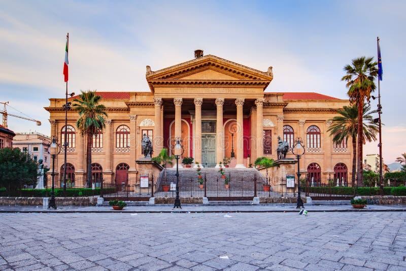 Città di Palermo in Sicilia, Italia immagine stock