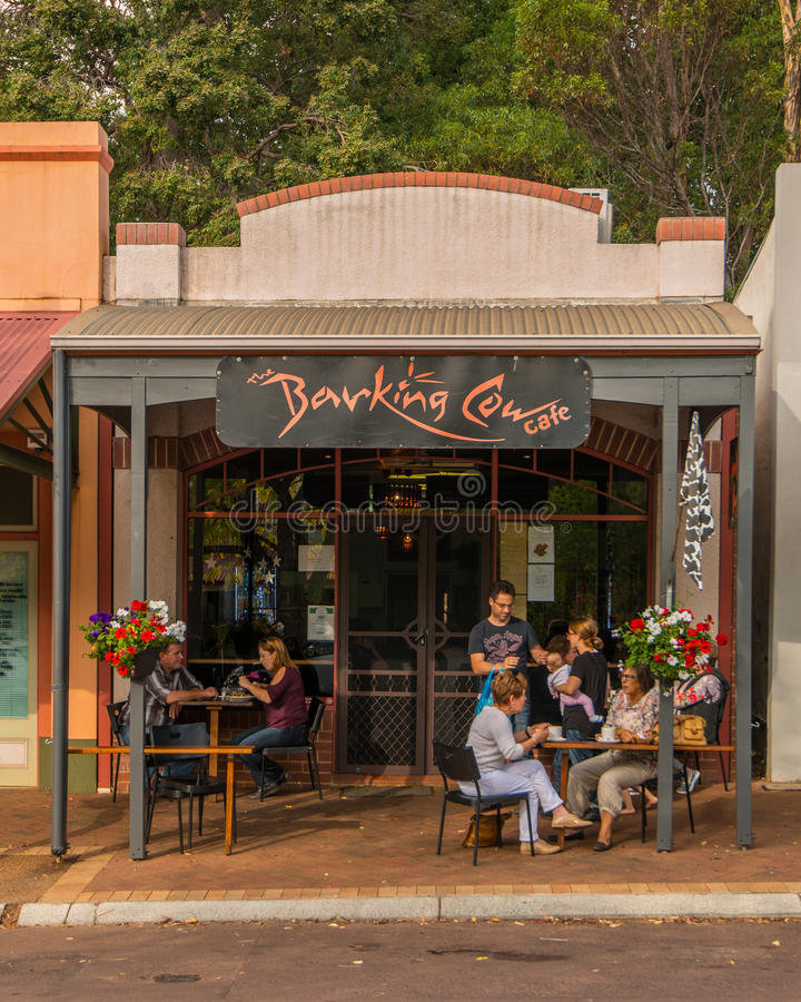 Città di provincia di Bridgetown in Australia occidentale fotografia stock libera da diritti