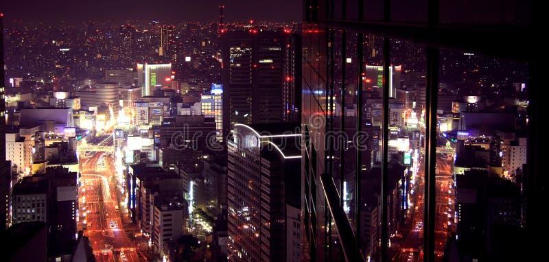 Città di Purplelicious fotografia stock