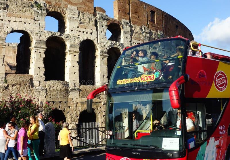 Città di Roma che fa un giro turistico immagini stock libere da diritti