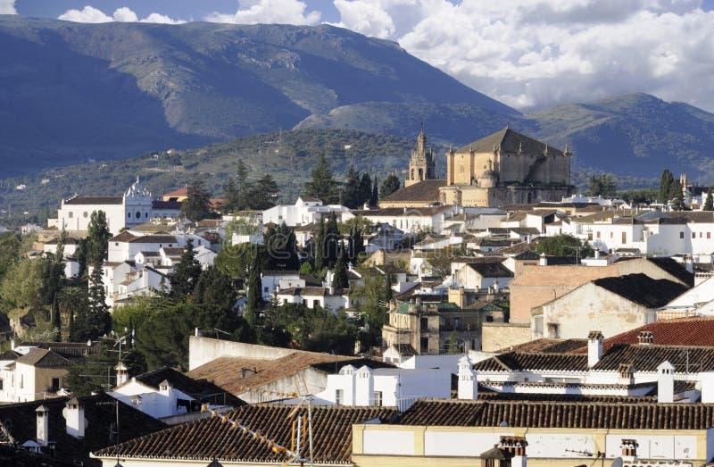 Città di Ronda Spagna immagini stock libere da diritti