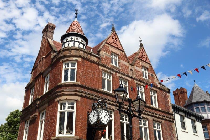 Città di Rotherham, Regno Unito immagini stock libere da diritti