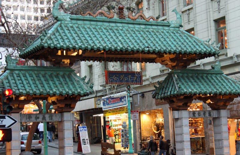 Città di San Francisco Cina fotografia stock libera da diritti