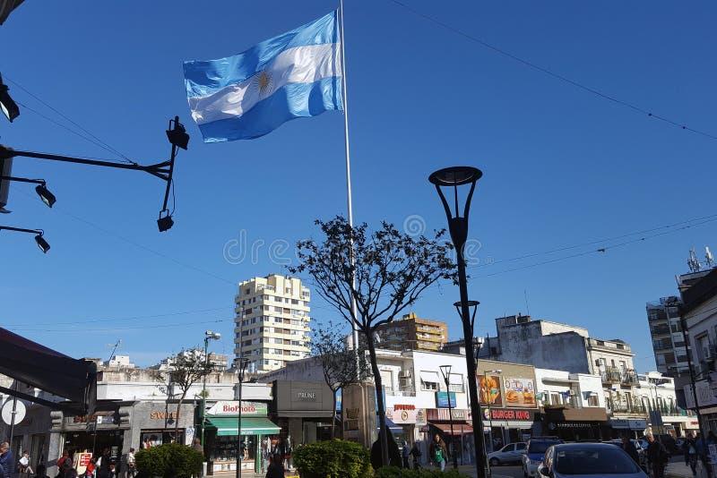 Città di San Isidro a Buenos Aires, Argentina immagini stock libere da diritti