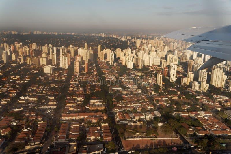 Città di Sao Paulo immagine stock