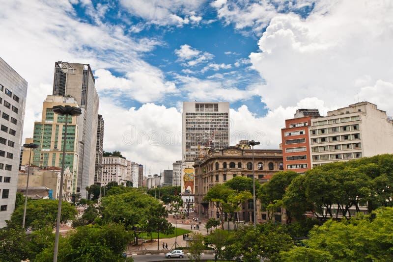 Città di Sao Paulo, Brasile immagine stock libera da diritti