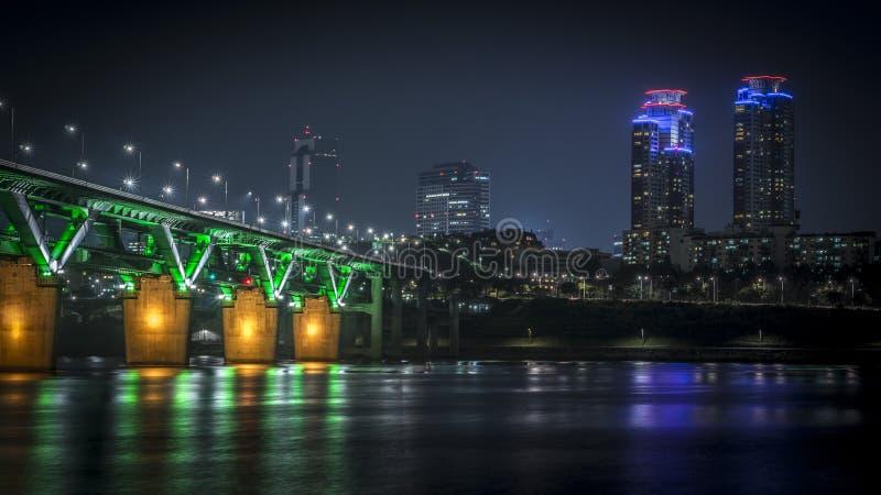 Città di Seoul immagini stock