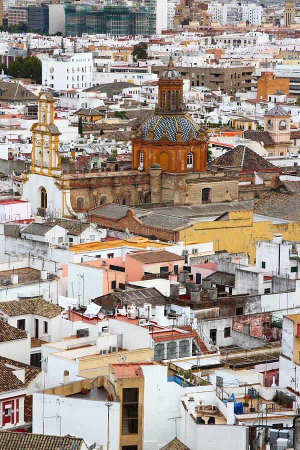 Città di Siviglia, Spagna fotografia stock libera da diritti