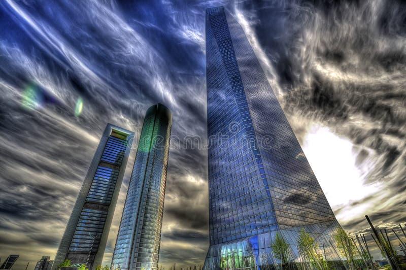Città di sogno fotografie stock