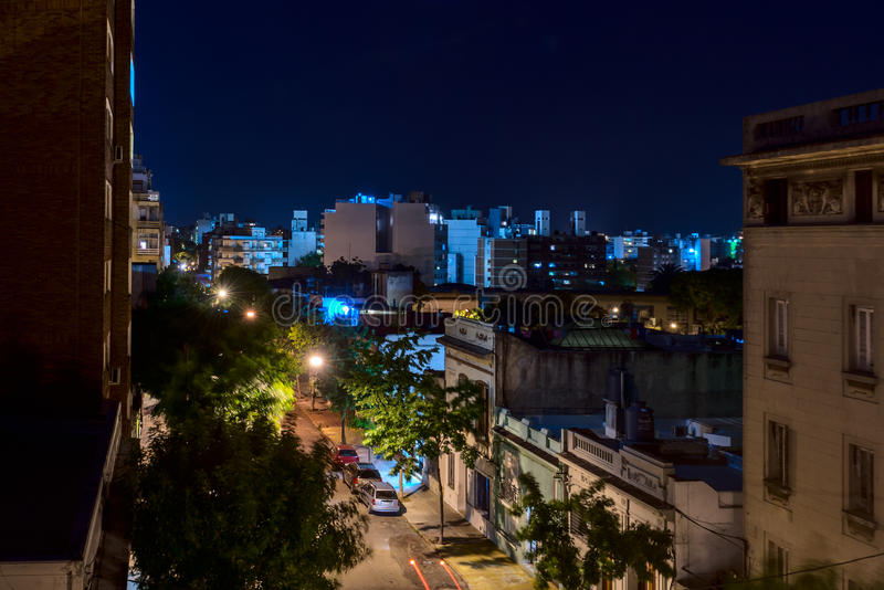 Città di sonno fotografia stock libera da diritti
