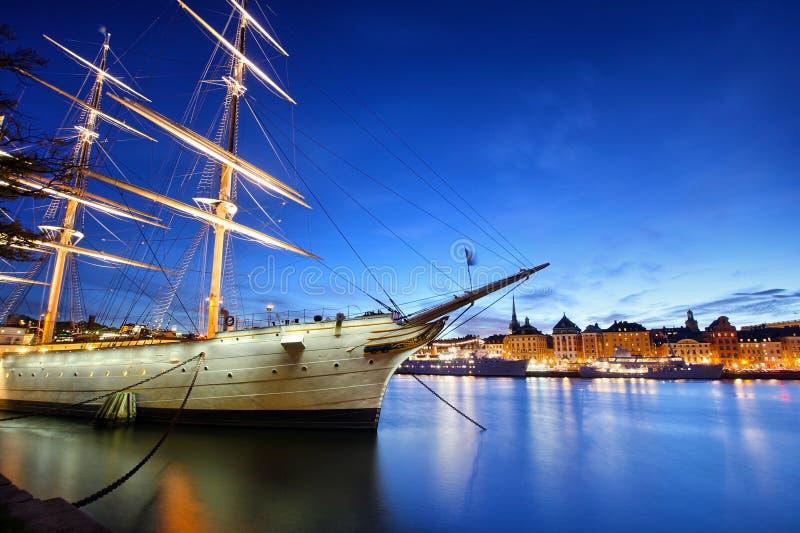 Città di Stoccolma fotografia stock