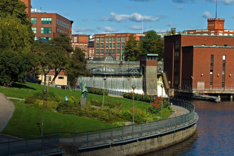 Città di Tampere fotografia stock libera da diritti