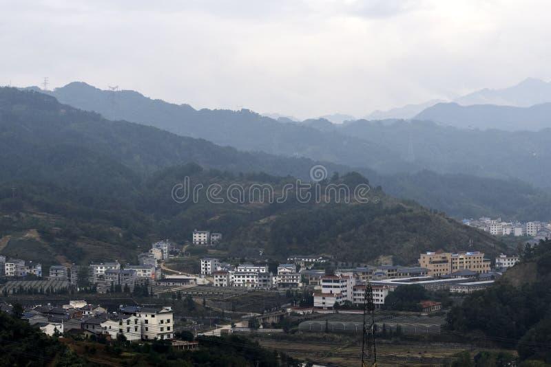 Città di Three Gorge Dam, Cina immagini stock libere da diritti
