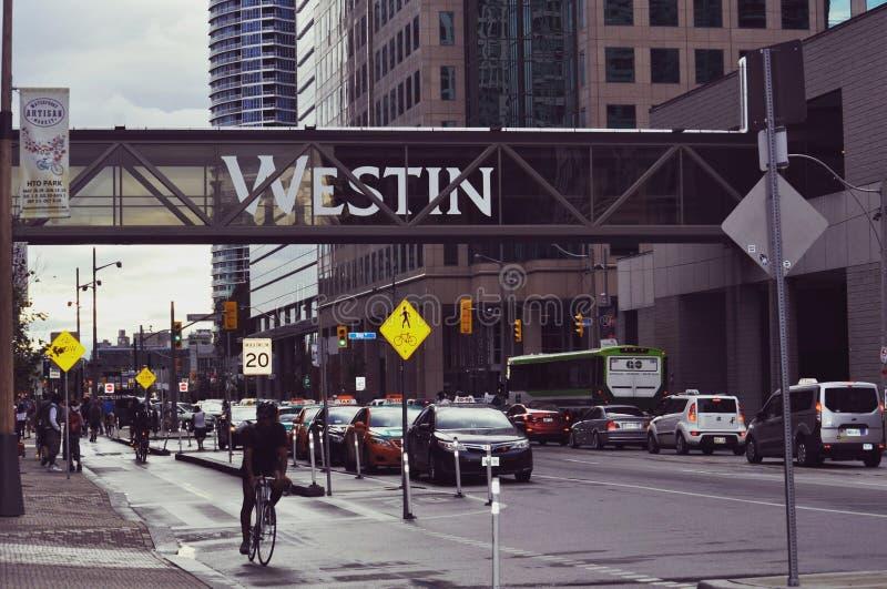 Città di Toronto fotografia stock libera da diritti