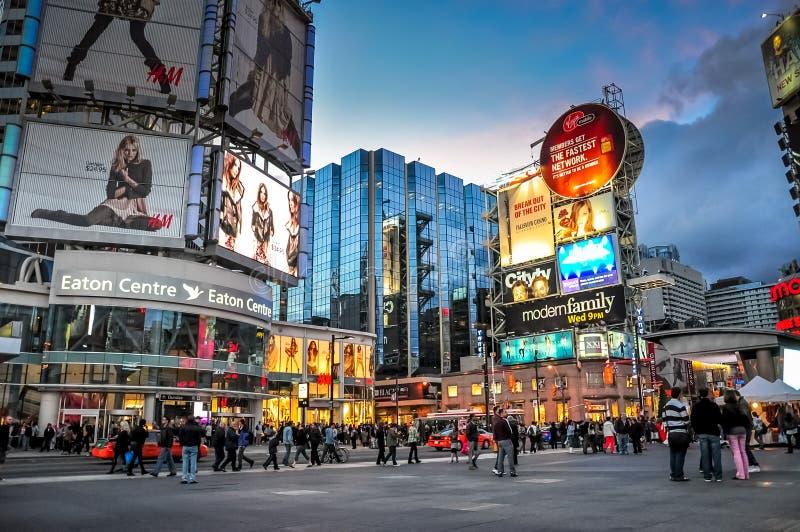 Città di Toronto, Canada immagine stock libera da diritti