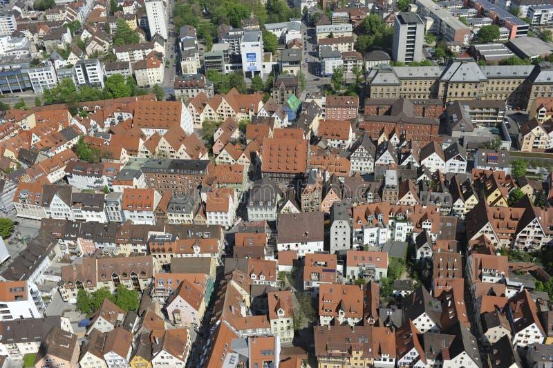 Città di Ulm immagine stock libera da diritti