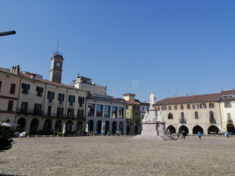 Città di Vercelli immagine stock libera da diritti