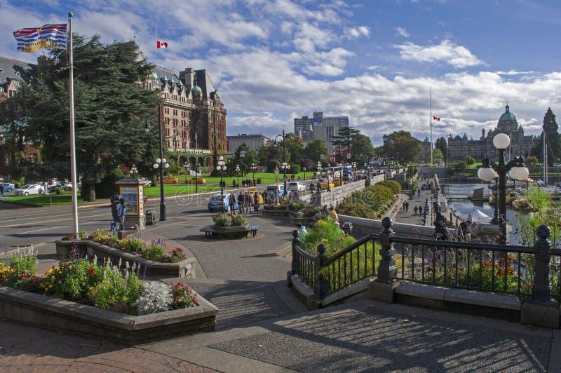 Città di Victoria immagine stock libera da diritti