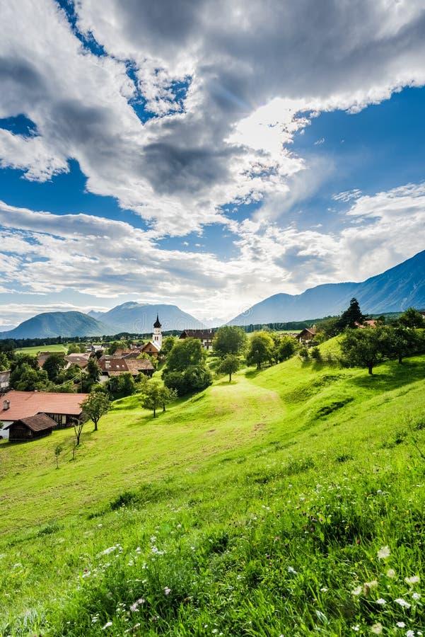 Download Città Di Wildermieming In Austria Fotografia Stock - Immagine di attrazione, vacanza: 55355814