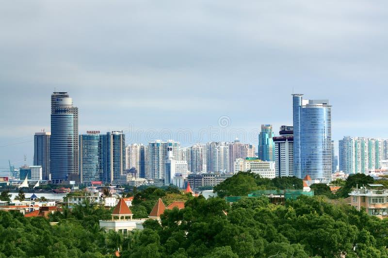 Città di Xiamen immagine stock