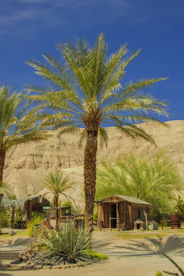 Città fantasma in Death Valley fotografie stock libere da diritti