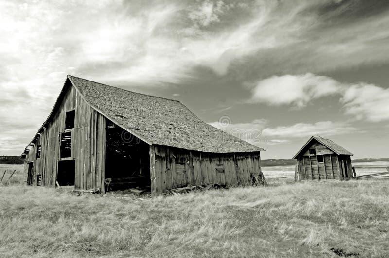 Città fantasma dell'Oregon fotografie stock