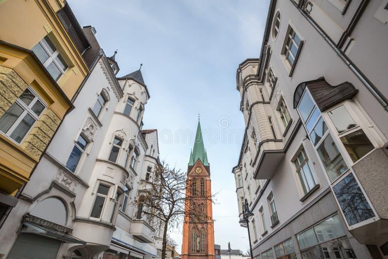 città Germania di Herne fotografia stock