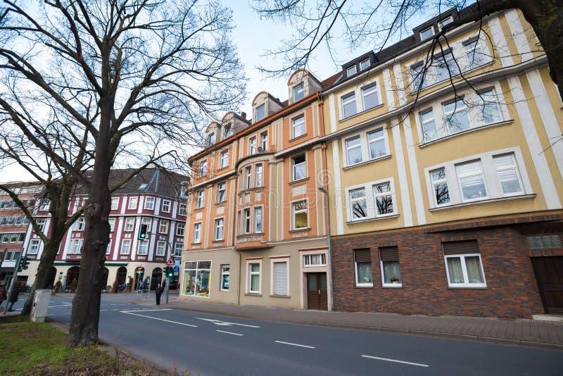 città Germania di Herne immagini stock