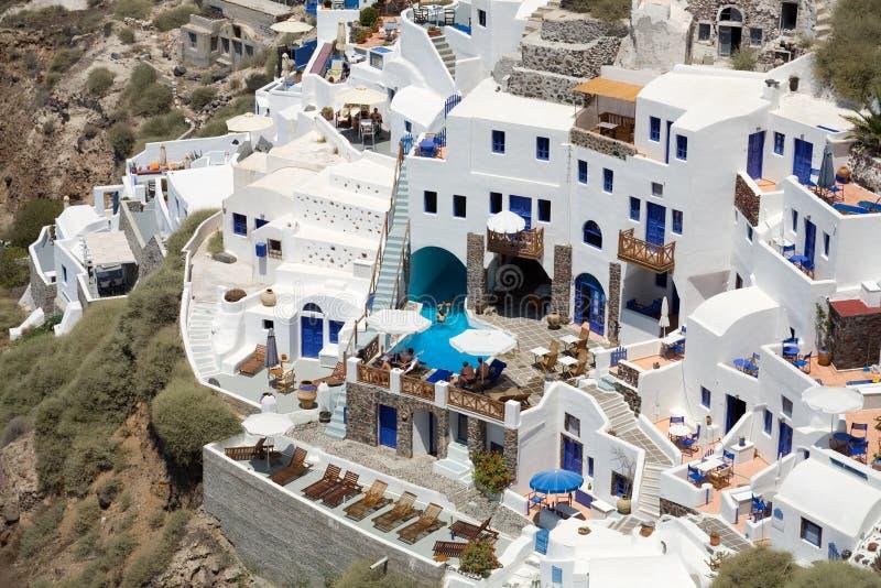 Città greca immagini stock