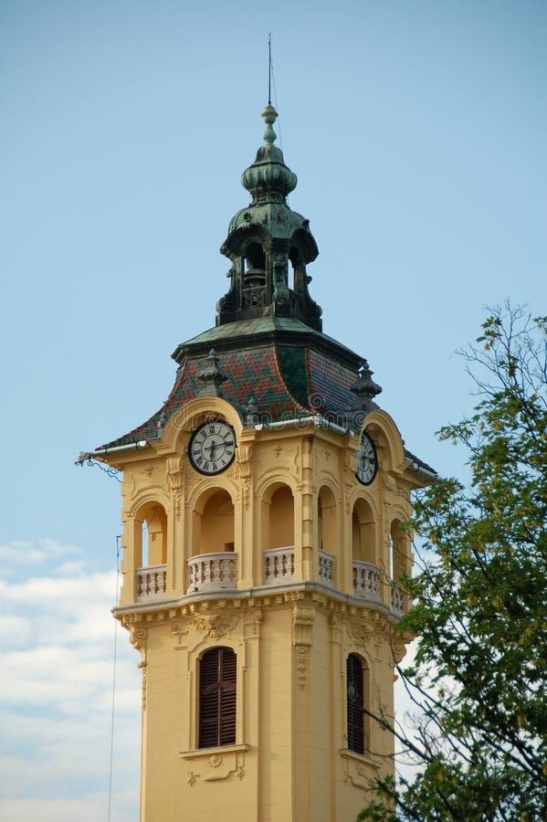 Città Hal - Szegedl fotografie stock libere da diritti