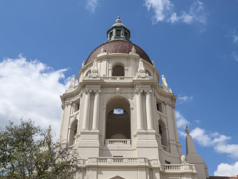 Città Hall Dome di Pasadena immagine stock