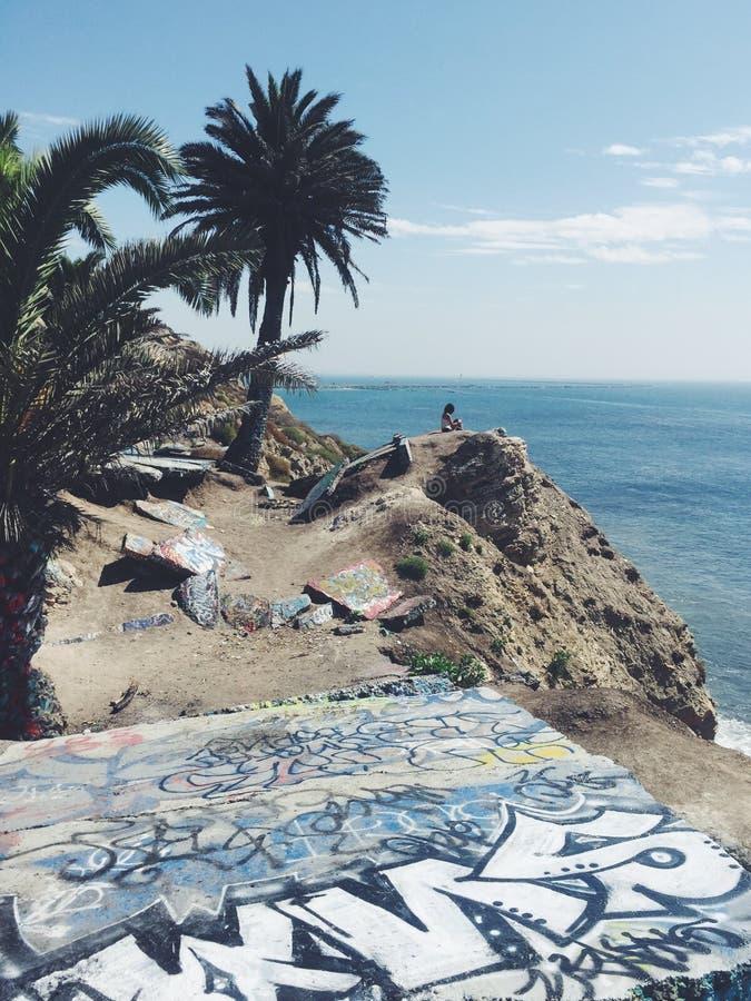 Citt? incavata California fotografia stock libera da diritti