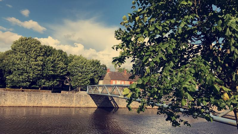 Città Irlanda di Kilkenny fotografie stock libere da diritti