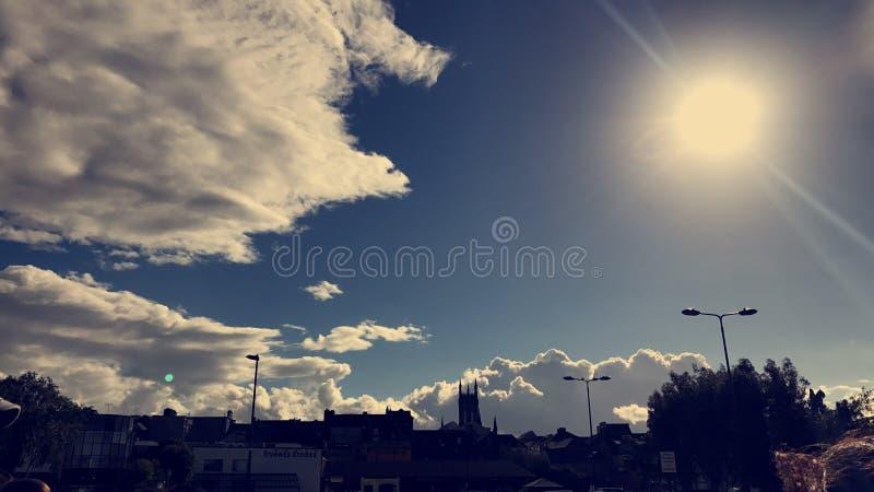 Città Irlanda di Kilkenny fotografia stock libera da diritti