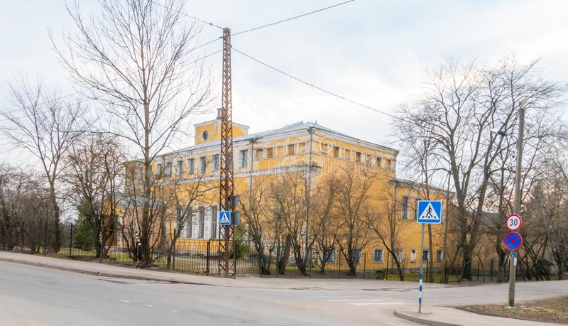 Città Kopli distric dell'Estonia Tallin immagini stock libere da diritti