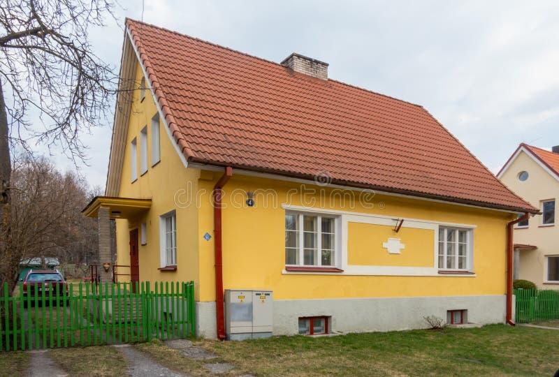Città Kopli distric dell'Estonia Tallin fotografia stock