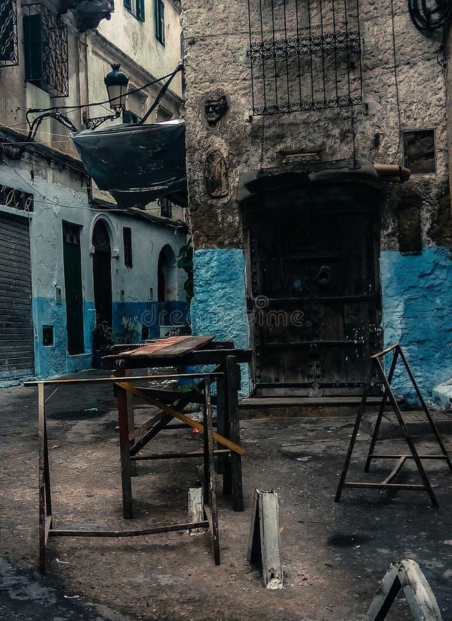 Città marocchina immagini stock