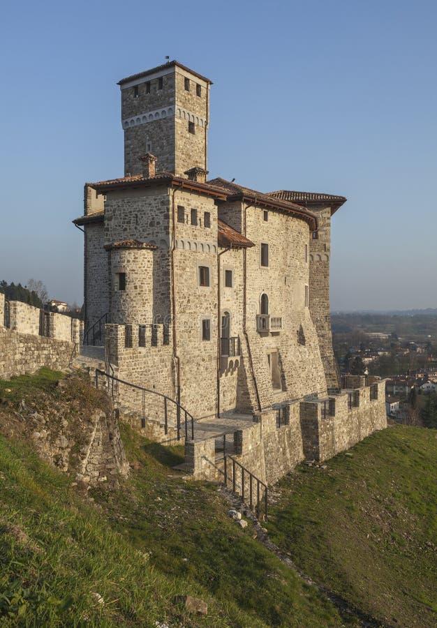 Città medievale Cividale fotografia stock