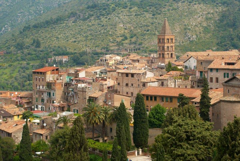 Città medioevale in Italia fotografie stock libere da diritti